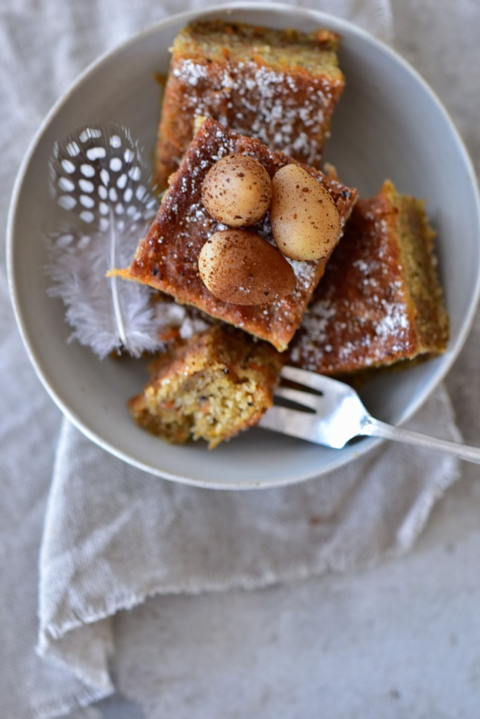 Chaga Möhren Kuchen - vegan